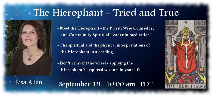 AstroHerbalist.com Tarot Telesummit Hierophant