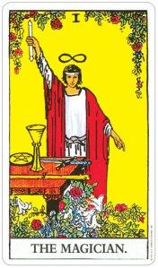 Magician Rider Waite Tarot Card